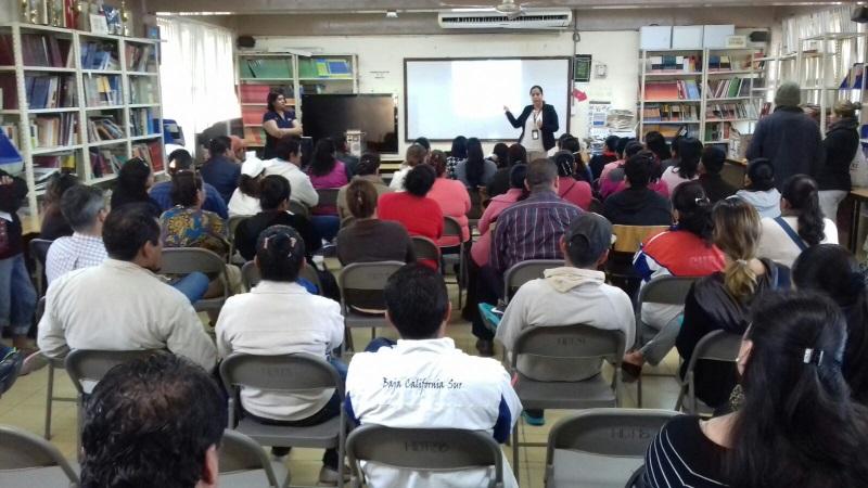 PGR previene delitos en planteles educativos en BCS