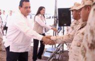 Da inicio CMD construcción de instalaciones militantes en Loreto