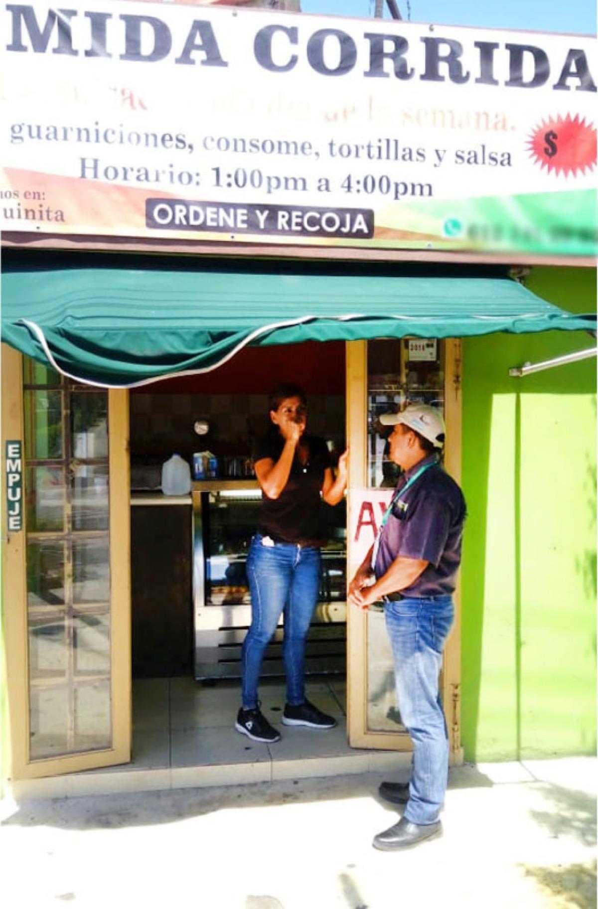 Suspensión parcial de venta de alimentos en La Paz