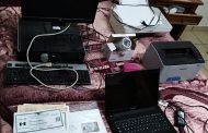 Catean vivienda en Comondú; aseguran impresoras y documentación falsa