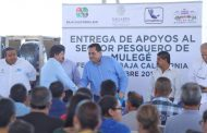 CMD entregó apoyos a pescadores de la Zona Pacífico Norte; fue una inversión de 15 mdp