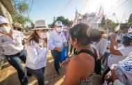Promete Lupita Saldaña mejorar red de drenaje de Los Cabos