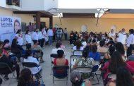 Arrasaremos en las elecciones del 6 de junio: Lupita Saldaña