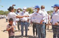 Vamos a dignificar el rostro de las comunidades comundeñas: Pancho Pelayo