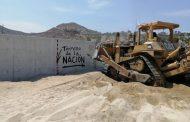 Derriban muro de Costa Azul en San José del Cabo