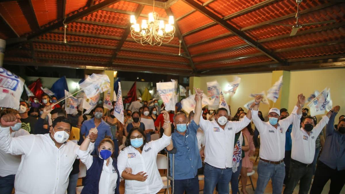 Jóvenes de Fuerza Ciudadana respaldan a Ricardo Barroso